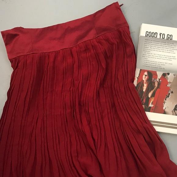 2e640efb90 H&M Skirts | Hm Soft Pleat Skirt | Poshmark
